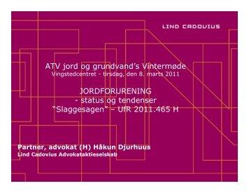 """Slaggesagen"" – UfR 2011.465 H - ATV - Jord og Grundvand"