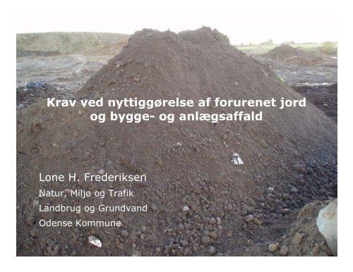 Lone H. Frederiksen - ATV - Jord og Grundvand