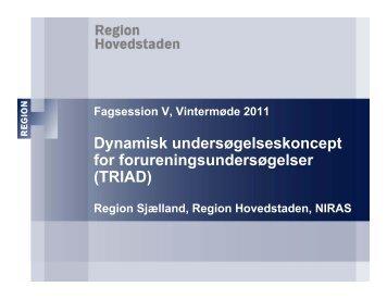 TRIAD - ATV - Jord og Grundvand