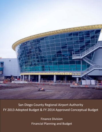 FY 2013 Adopted Budget and FY 2014 Approved Conceptual Budget