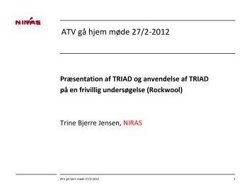 ATV gå hjem møde 27/2-2012 - ATV - Jord og Grundvand