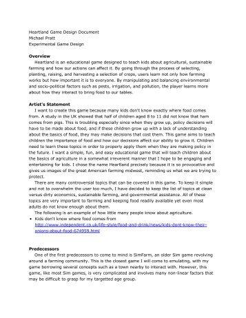 JabbeRwoCKY GaMe DesiGn DoCUMenT Classes - Game design document template pdf