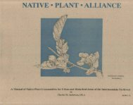 A Manual of Native Plant Communities for Urban and Disturbed ...