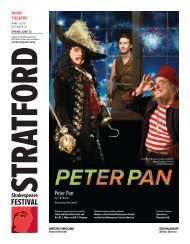 Peter Pan.indd - Stratford Festival