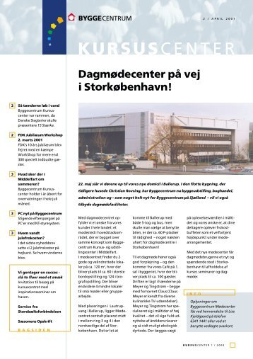 KURSUSCENTER - Byggecentrum