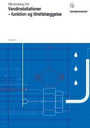 Vandinstallationer – funktion og tilrettelæggelse - Byggecentrum