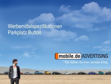 Parkplatz Button - mobile.de Advertising
