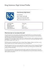 King Solomon High School Profile