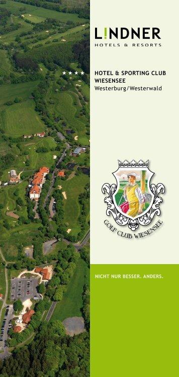 hotel & sporting club wiesensee Westerburg/Westerwald