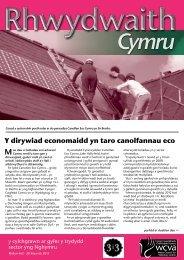 Rhwydwaith Cymru 463, 20 Mawrth 2013. - WCVA