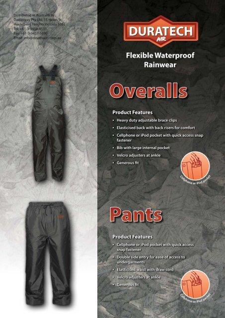 Vest Parka - Daviesway Pty Ltd
