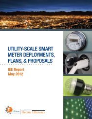 Utility-Scale Smart Meter Deployments, Plans, and Proposals