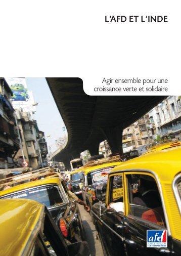 l'afd et l'inde - Agence Française de Développement