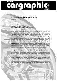 11/10 Frisch, flott, fröhlich, frei - Cargraphic