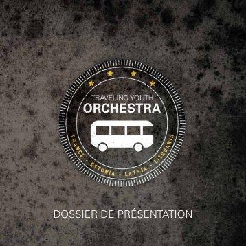 DOSSIER DE PRÉSENTATION - Mezzanine Spectacles
