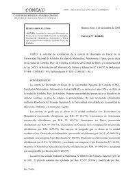 Resolución de Acreditación del Doctorado en Física (Cat. A)
