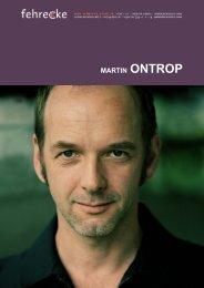 MARTIN ONTROP - Fehrecke