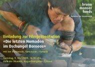 Einladungskarte_A6.pdf - Bruno Manser Fonds