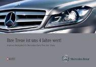 4-Jahres-Wertpaket - Mercedes Benz