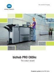 bizhub PRO C65hc (Pdf)