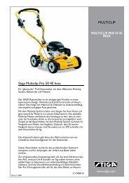 Stiga Multiclip Pro 50 4S Inox MULTICLIP - IMA Aschaffenburg