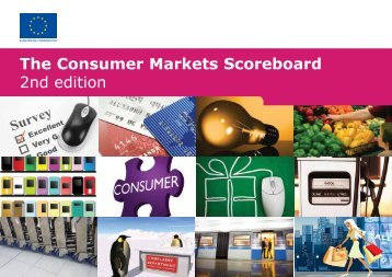 The Consumer Markets Scoreboard 2nd edition