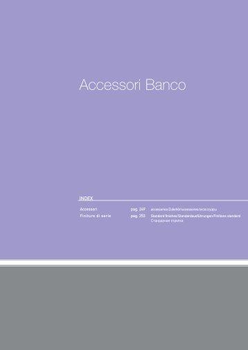Accessori Banco - MULTI DEKOR sro