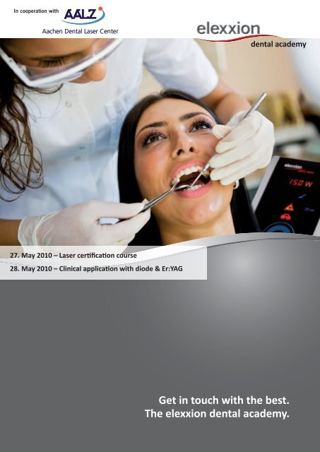 Get in touch with the best. The elexxion dental academy. - Rident