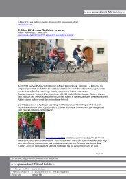 E-Bikes 2014 – was Radfahrer erwartet - Pressedienst Fahrrad
