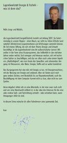 Energie Technik Umwelt Kreativität Nachhaltigkeit ... - JuwET.de - Seite 3