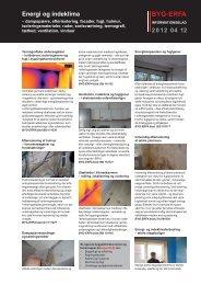 Informationsblad 2012 04 12 Energi- og indeklima (PDF) - Byg-Erfa