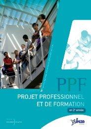 Plaquette de présentation du PPF - Centre Diversité Réussite - INSA ...