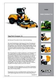 Stiga Park Compact 16 PARK - IMA Aschaffenburg