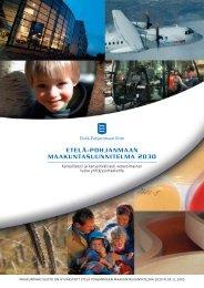 Etelä-Pohjanmaan maakuntasuunnitelma 2030
