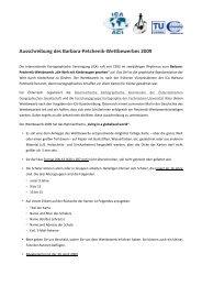 Ausschreibung des Wettbewerbs als PDF