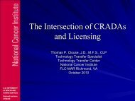 CRADAs - FLC Mid-Atlantic Region