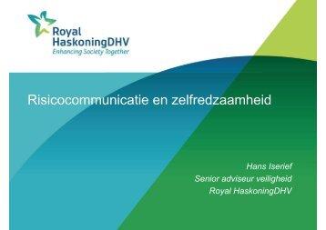 Risiscocommunicatie en zelfredzaamheid - gemeente Moerdijk