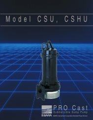 Model CSU, CSHU rev. 0300 - BBC Pump and Equipment
