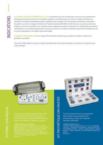Système d'implants - Zimmer Dental