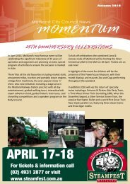 MOMENTUM APRIL 17-18 - Maitland City Council