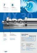 Exzenterschneckenpumpe MX Progressing cavity pump MX - Seite 6