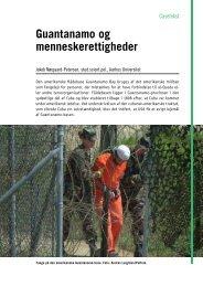 Guantanamo og menneskerettigheder - SamfNU