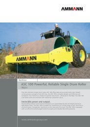 ASC 100 Powerful, Reliable Single Drum Roller - The Sunway Group
