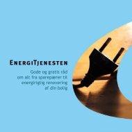 Generelt om Energitjenesten