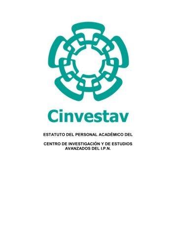 Estatuto del Personal Académico del Cinvestav - Administración del ...