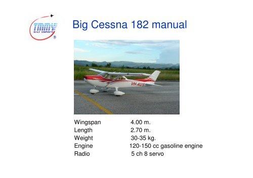 Big Cessna 182 manual - RC Universe
