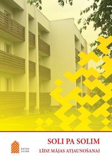 Soli pa solim līdz mājas atjaunošanai - Rīgas enerģētikas aģentūra