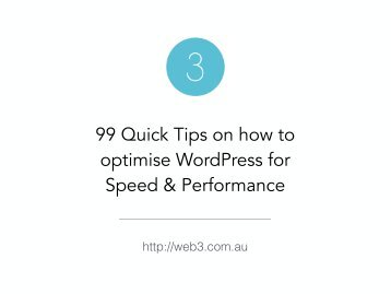 99-tips-on-how-to-optimise-wordpress-for-speed-and-performance