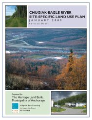 chugiak-eagle river site-specific land use plan - Agnew::Beck ...