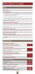 CONDITIONS TARIFAIRES 2012 - CIC - Page 2
